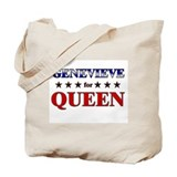 GENEVIEVE for queen Tote Bag