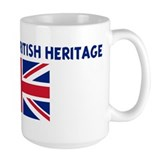 PROUD OF MY BRITISH HERITAGE Mug