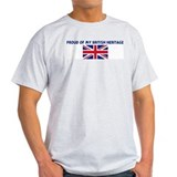 PROUD OF MY BRITISH HERITAGE T-Shirt