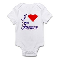 I Love Farmor Infant Creeper
