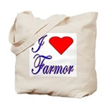 I Love Farmor Tote Bag