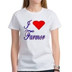 I Love Farmor Women's T-Shirt