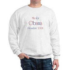 Mia for Obama 2008 Sweatshirt