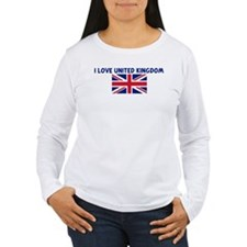 I LOVE UNITED KINGDOM T-Shirt