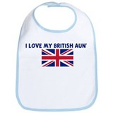 I LOVE MY BRITISH AUNT Bib