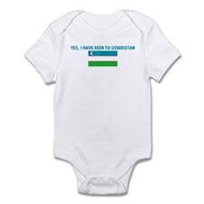 YES I HAVE BEEN TO UZBEKISTAN Infant Bodysuit