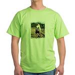 BEAUTIFUL HORSES Green T-Shirt