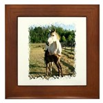BEAUTIFUL HORSES Framed Tile