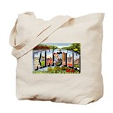Kinston North Carolina Greetings Tote Bag