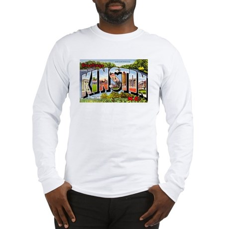 Kinston North Carolina Greetings Long Sleeve T-Shi