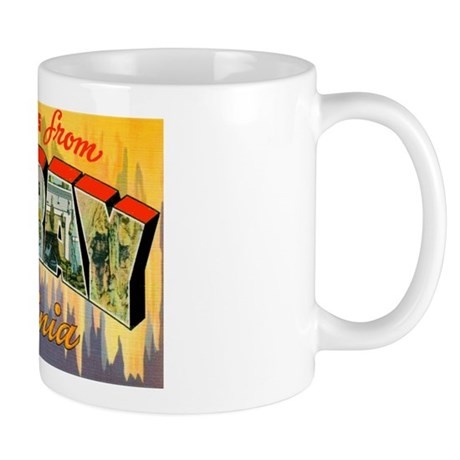 Luray Virginia Greetings Mug