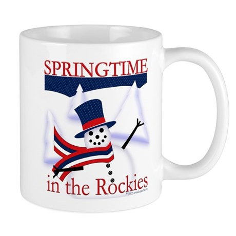Springtime in the Rockies Mug