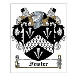 Foster Family Crest Small Poster