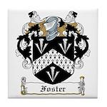 Foster Family Crest Tile Coaster