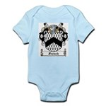 French Family Crest Infant Creeper