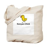 Kenyan Chick Tote Bag
