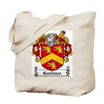 Gardiner Family Crest Tote Bag