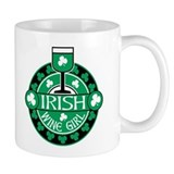 Irish Wine Girl Mug