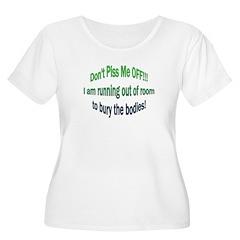 The Mr. V 103 Shop Women's Plus Size Scoop Neck T-