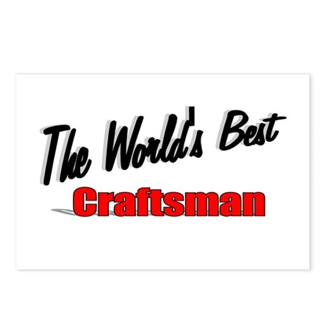 &quot;The World's Best Craftsman&quot; Postcards (Package of
