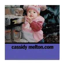 Cute Melton's Tile Coaster
