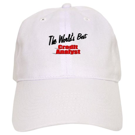 """The World's Best Credit Analyst"" Cap"