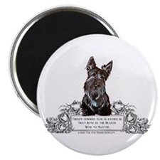 "Scottish Terrier Friend 2.25"" Magnet (100 pack)"