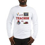 Teachers Do It With Class Long Sleeve T-Shirt