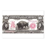 Buffalo Money Postcards (Package of 8)
