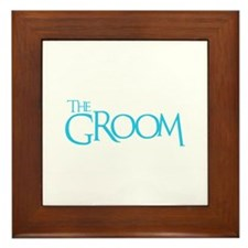 The Groom - Event Blue Framed Tile