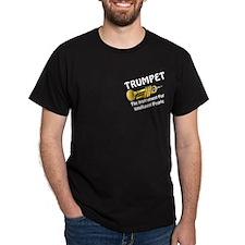 Trumpet Genius Pocket Image T-Shirt