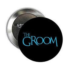 "The Groom - Event Blue 2.25"" Button (100 pack)"