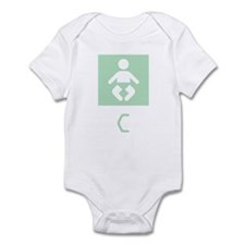 Baby C Symbol Infant Bodysuit