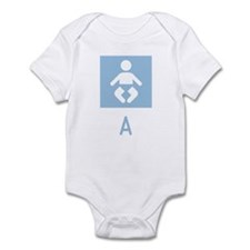 Baby A Symbol Infant Bodysuit