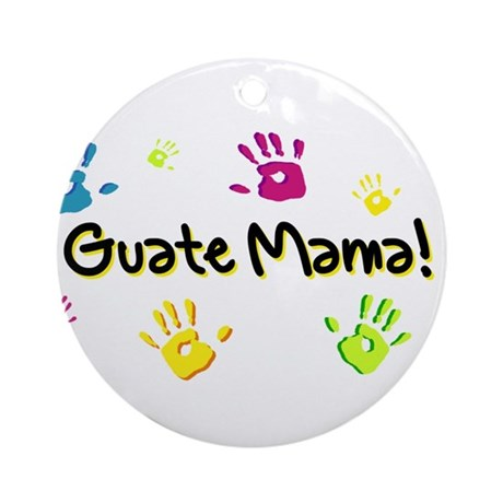 GuateMama! Keepsake (Round) 