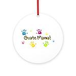 GuateMama! Keepsake (Round)