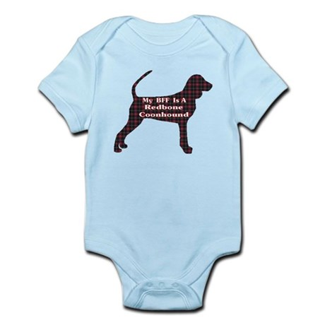 BFF Redbone Coonhound Infant Bodysuit