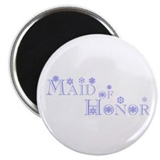 Maid Of Honor - Snowflakes Magnet
