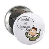 "I'm Autistic & Awesome 2.25"" Button"