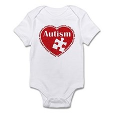 Autism Puzzle Heart Infant Bodysuit