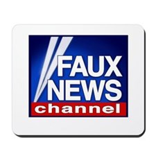 FAUX NEWS Mousepad