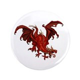 Red Dragon 3.5&quot; Button (100 pack)