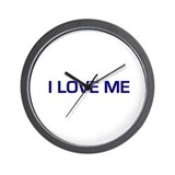 I Love Me Wall Clock