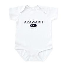 Property of an Azawakh Infant Bodysuit