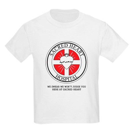 Sacred Heart Hospital Kids Light T-Shirt