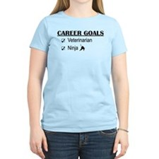 Veterinarian Career Goals T-Shirt