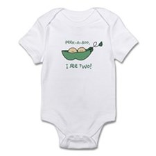 """2 peas peek-a-boo"" Infant Bodysuit"