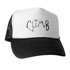 Climb Graffiti Trucker Hat
