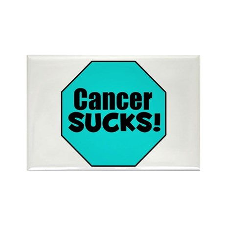 Cancer Sucks Rectangle Magnet (10 pack)