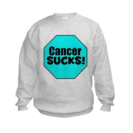 Cancer Sucks Kids Sweatshirt